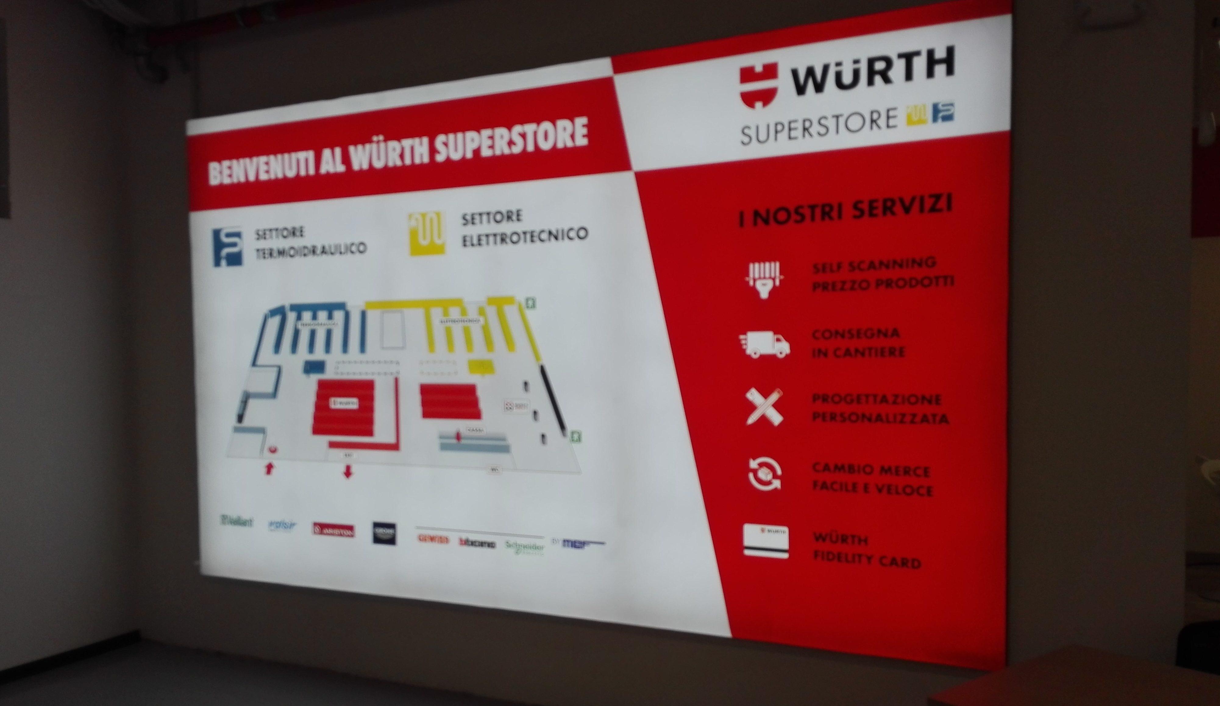 IBC srl Würth SuperStore Milano Inaugurazione