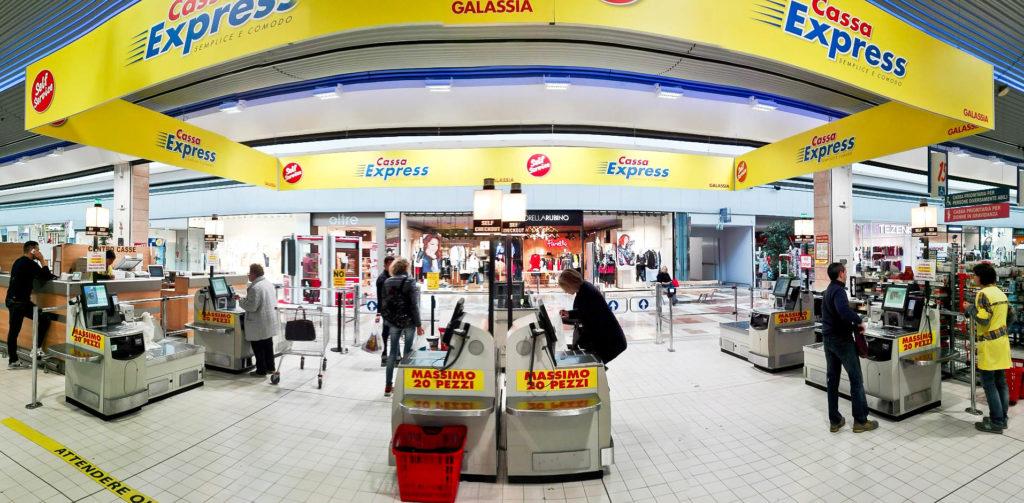 IBC per MaxiDì implementa le nuove FastLane NCR nell'ipermercato Galassia a San Giovanni Lupatoto
