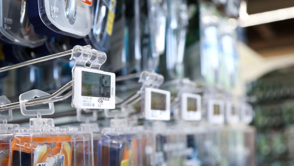 Maind importante partner di IBC ha seguito per il PDV Conad Pac2000 di Roma l'installazione delle nuove etichette elettroniche Pricer.