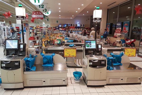 Nuova area Self Checkout per il Famila di Codogno
