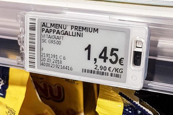 Installazione delle Etichette elettroniche per Emisfero Unicomm a Monfalcone