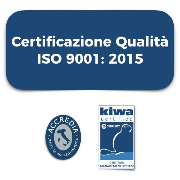 ISO 9001 2015 IBC srl padova