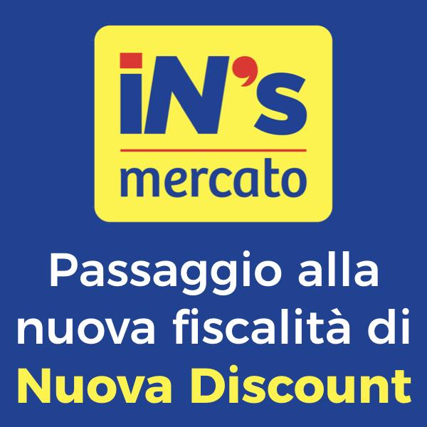 Nuova Discount: passaggio alla nuova fiscalità