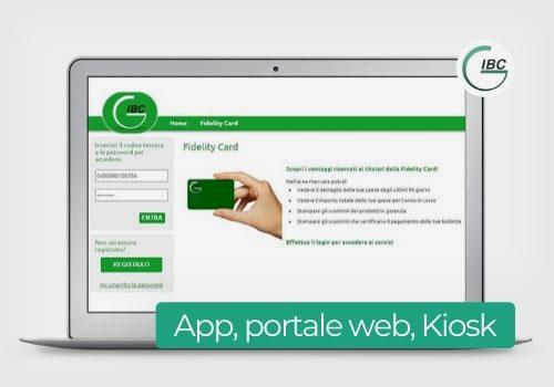 app portale web kiosk - progetti IBC
