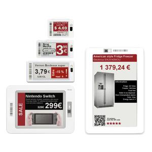 Etichette elettroniche Pricer - scegli IBC
