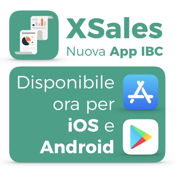 XSales app IBC