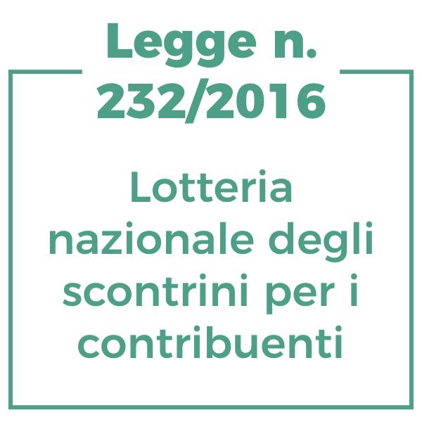 Lotteria nazionale degli scontrini per i contribuenti