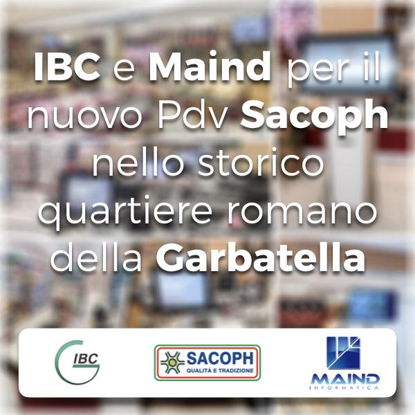 IBC e Maind per il nuovo Pdv Sacoph nello storico quartiere romano della Garbatella