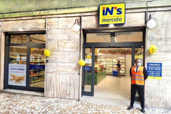 In's Mercato nuova apertura La Spezia con IBC